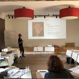 Lecture about nature´s wellbeing effects to wandel coach training at Het Coachbureau