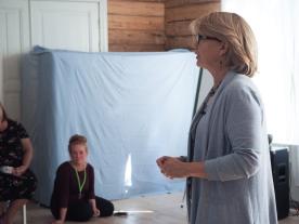 Liisa Tyrväinen, foto by Sara Malve-Ahlroth