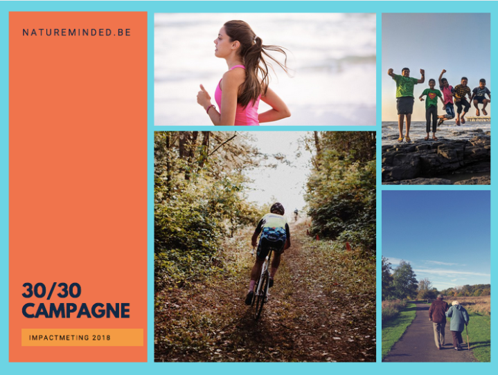 30/30 campaign: promoting physical and mental health through daily exercise innature